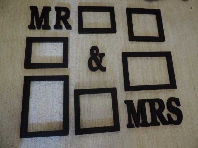 Fotorámiky Mr&Mrs - Obrázok č. 1