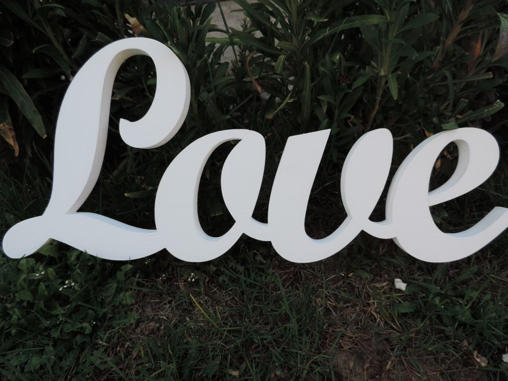 Nápis LOVE - Obrázok č. 2