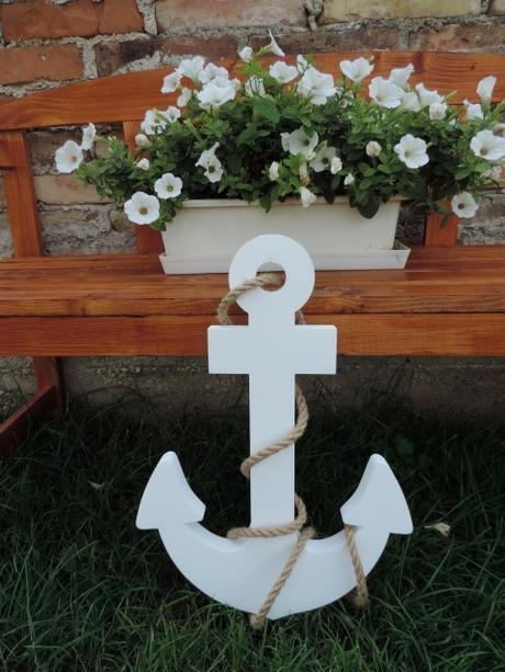 Námornícka kotva - malá - Obrázok č. 1