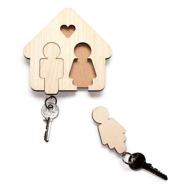 Drevená kľúčenka - Obrázok č. 1