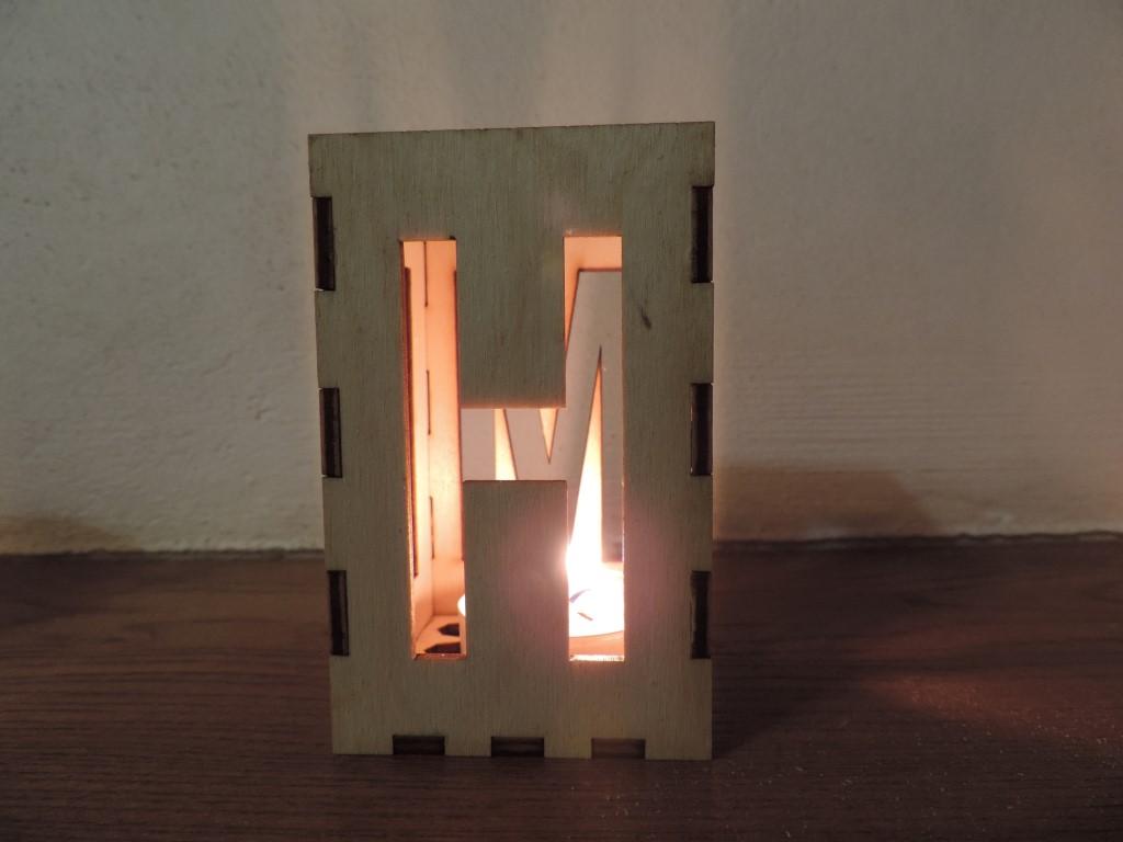 Svietnik drevený - Obrázok č. 4