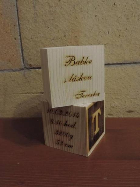 Kocka gravírovaná - Obrázok č. 1
