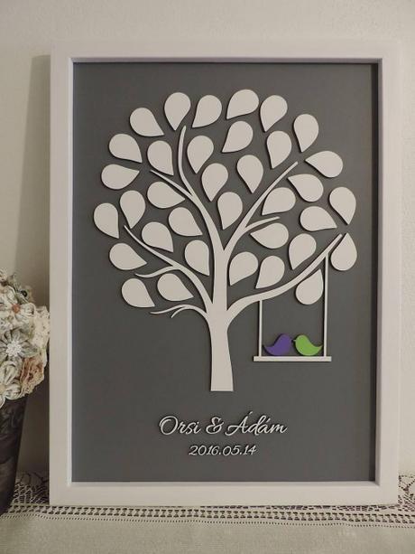 Svadobný strom 85 listov - Obrázok č. 1