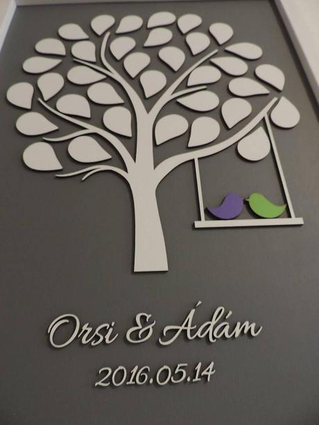 Svadobný strom 85 listov - Obrázok č. 3
