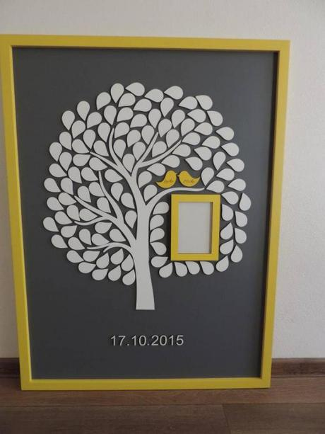 Svadobný strom s fotorámikom - Obrázok č. 1