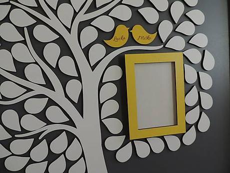 Svadobný strom s fotorámikom - Obrázok č. 3