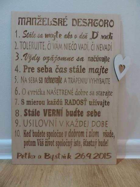 Manželské desatoro - Obrázok č. 2