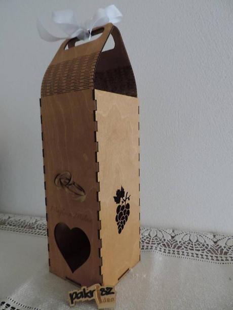 Svadobná dóza na fľašu - Obrázok č. 4