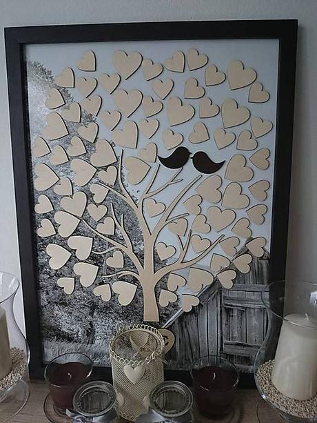 Svadobný strom s foto podkladom - Obrázok č. 1