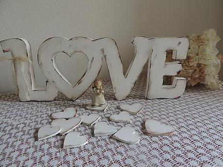 Nápis Love 15cm - Obrázok č. 2