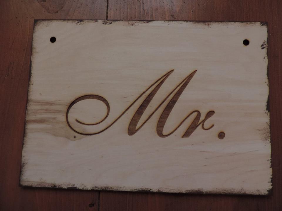 Drevený svadobný set - Obrázok č. 3