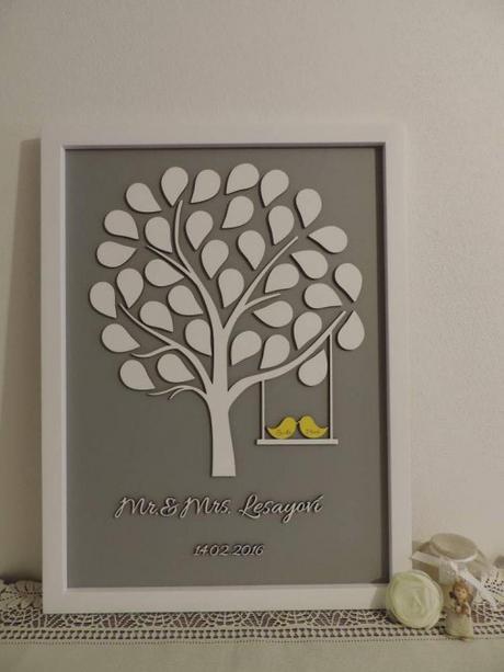 Svadobný strom Mr & Mrs - Obrázok č. 1