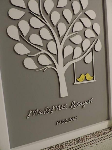 Svadobný strom Mr & Mrs - Obrázok č. 2