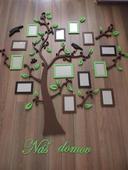 Farebný strom rodiny,