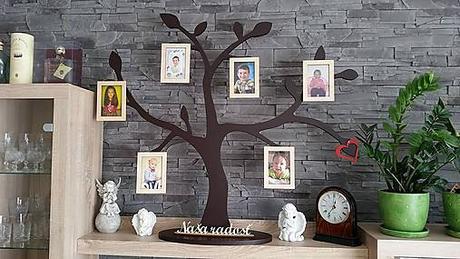 Strom s fotorámikmi - Obrázok č. 1