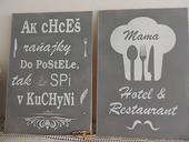 Súprava tabuliek do kuchyne,