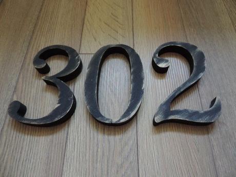Súpisné číslo na dom s patinou - Obrázok č. 1