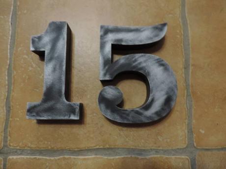 Súpisné číslo na dom s patinou - Obrázok č. 3