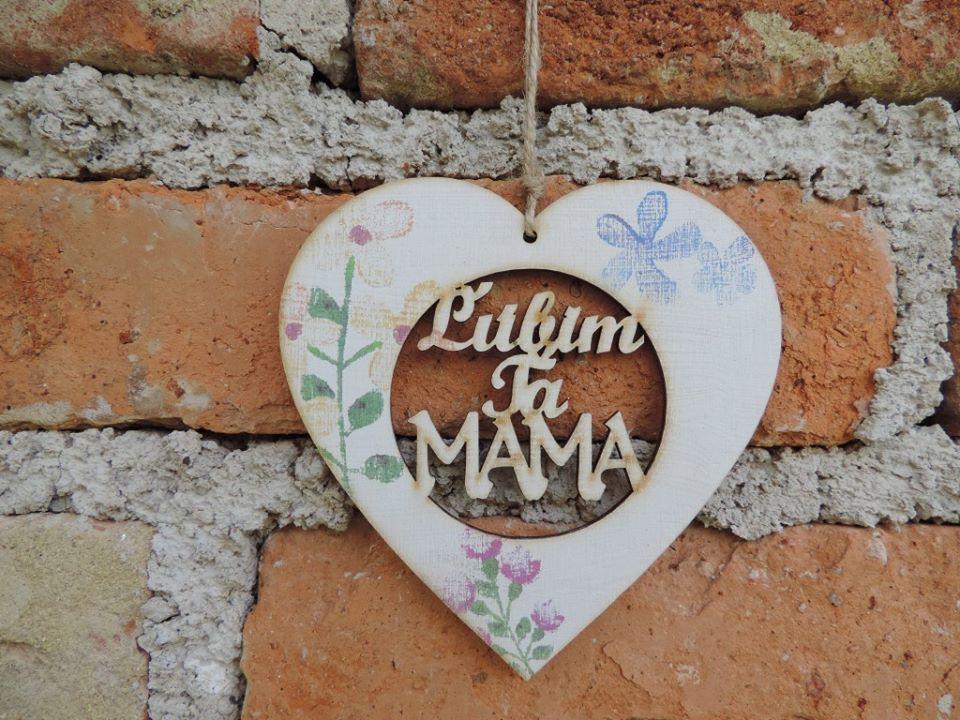 SRDIEČKO  Ľúbim ťa Mama - Obrázok č. 1