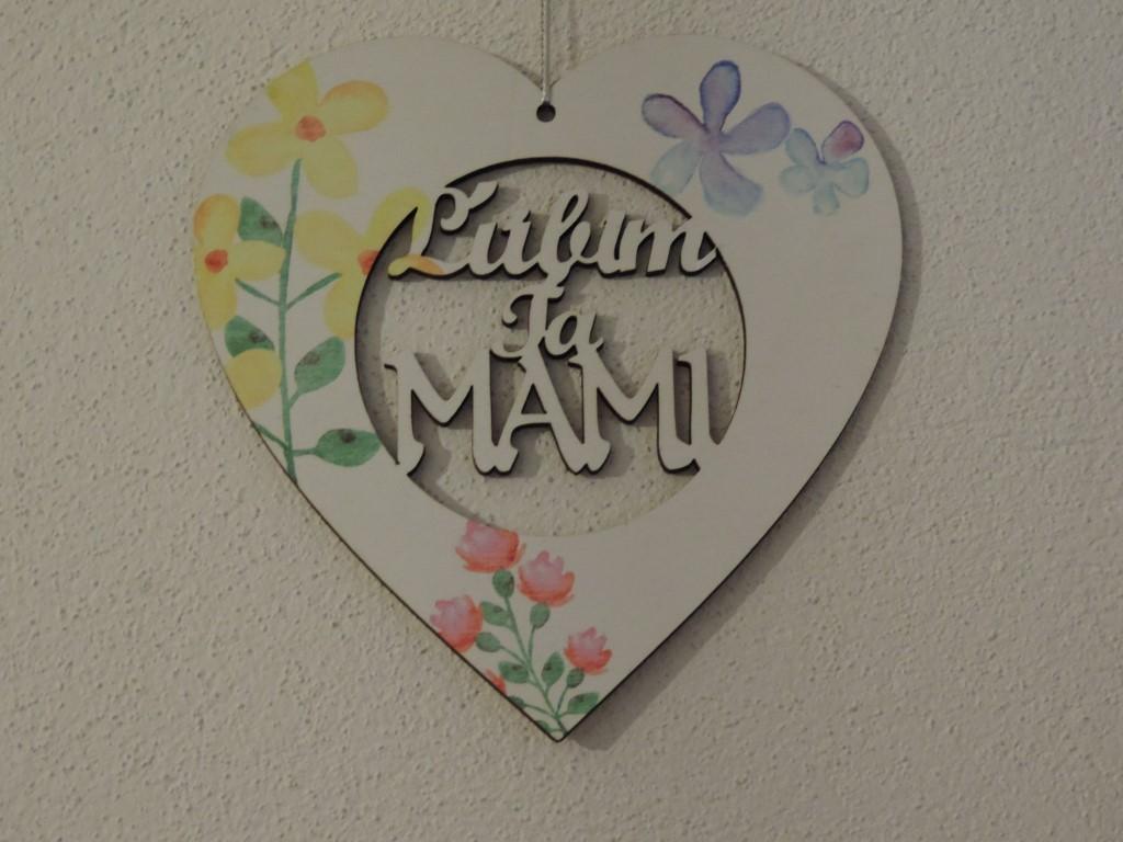SRDIEČKO  Ľúbim ťa Mama - Obrázok č. 3