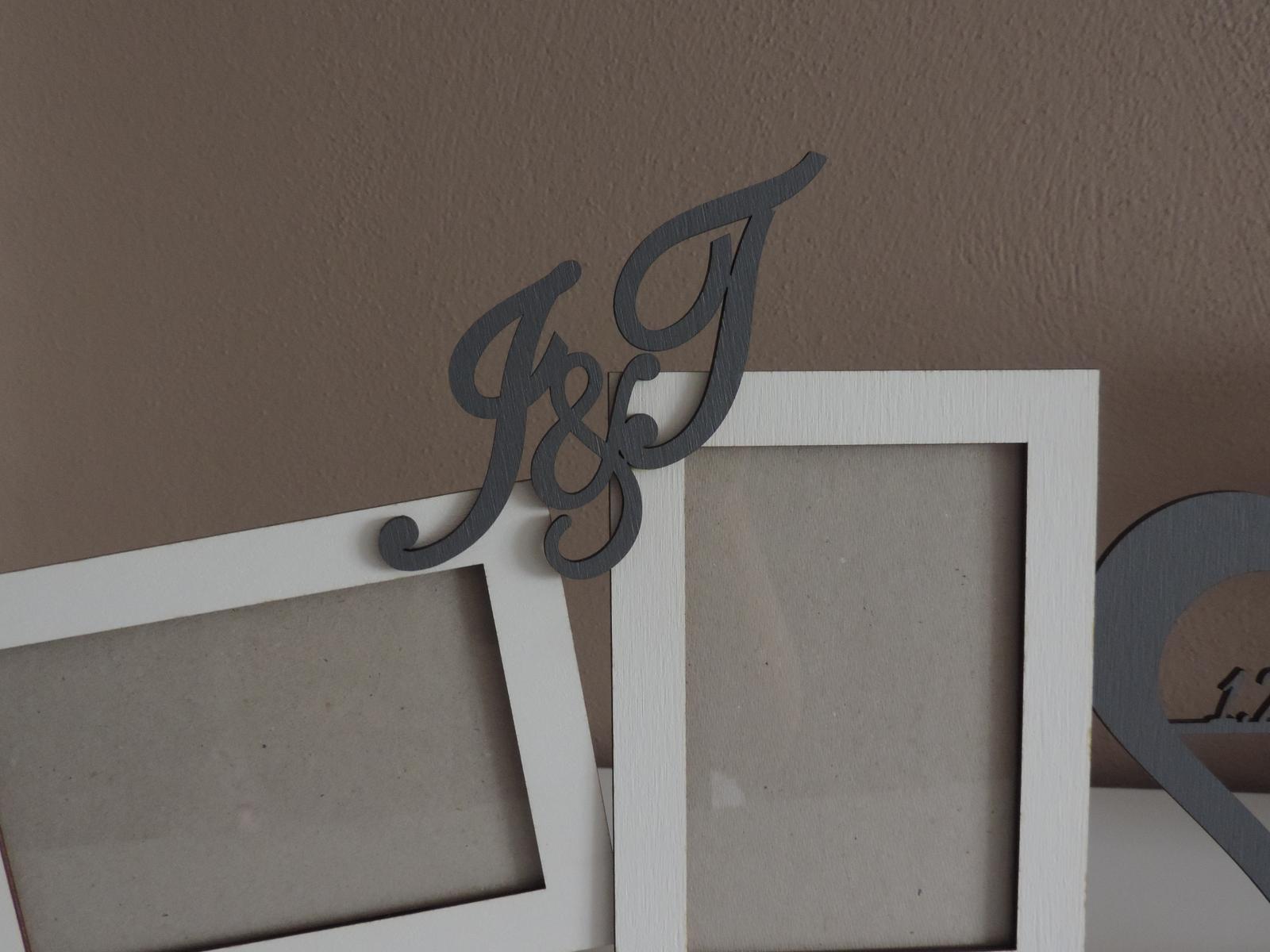 Fotorámiky s iniciálmy  - Obrázok č. 3