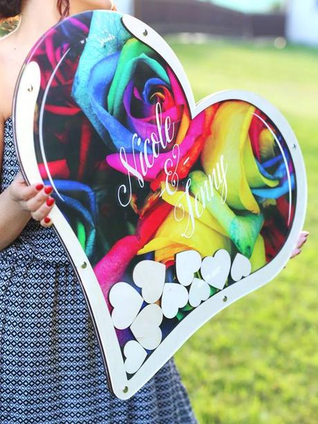 Srdce na vhadzovanie s vlastním fotopodkladom XXL - Obrázok č. 3