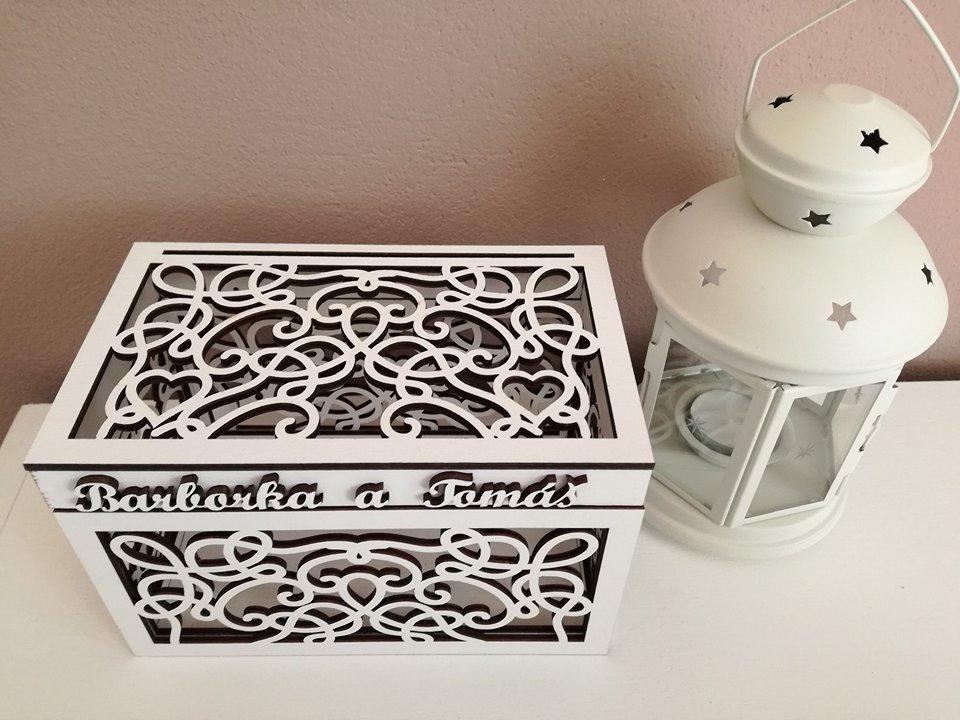 Krabička na peňažné dary - Obrázok č. 2