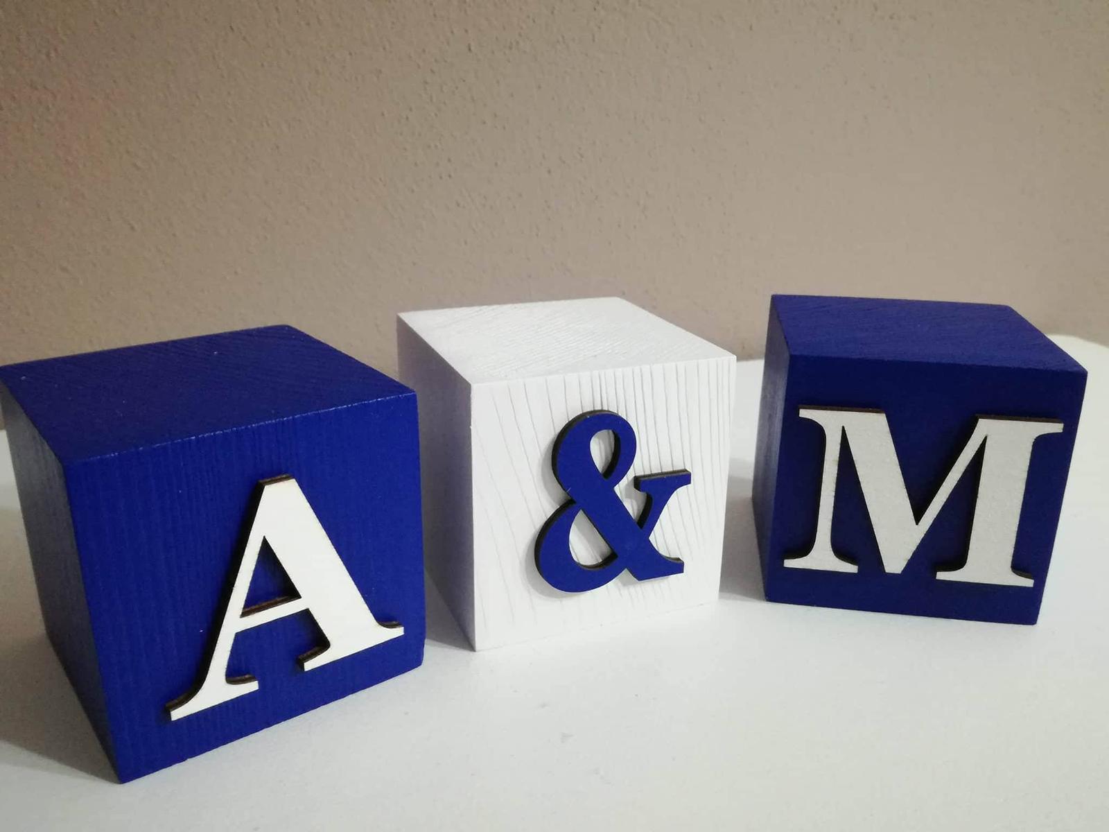 Drevené kocky s písmenkami - Obrázok č. 2