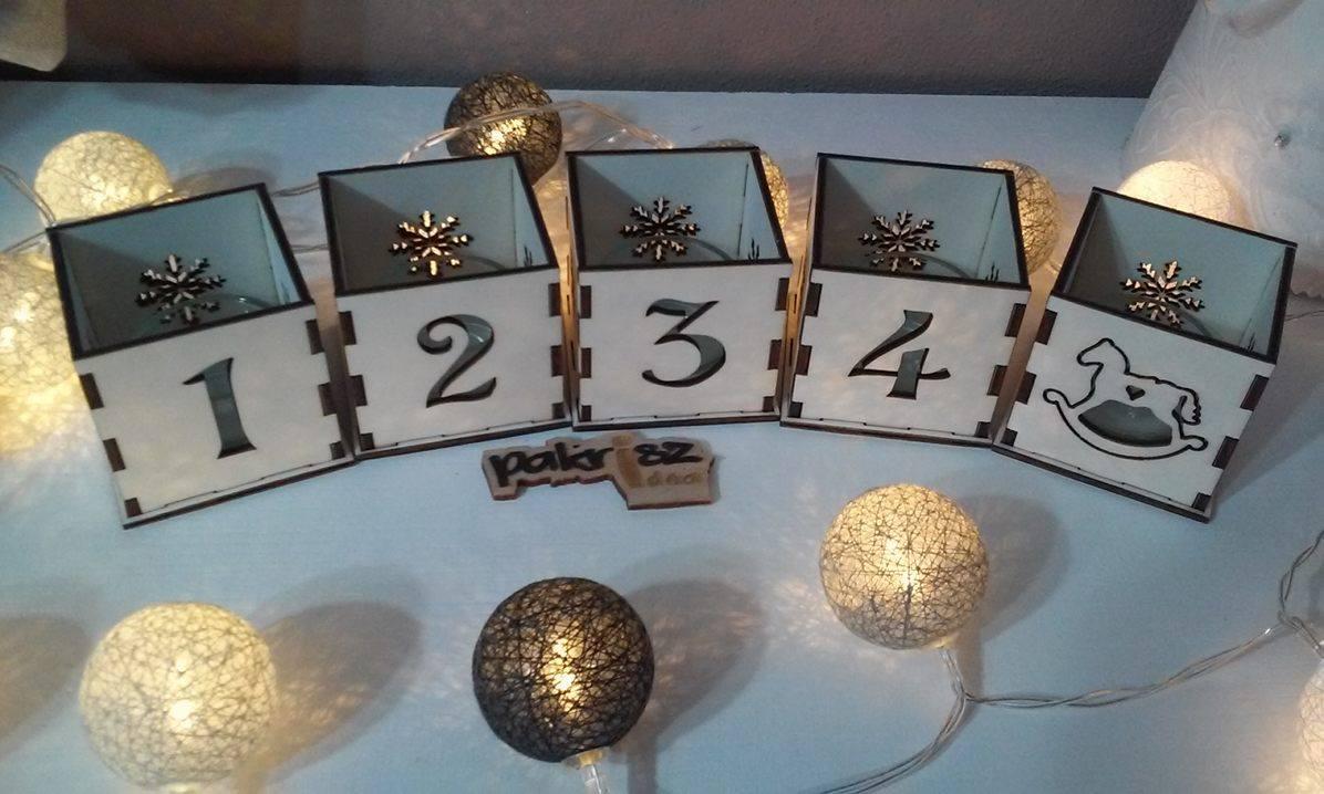Set adventné svietniky - Obrázok č. 1