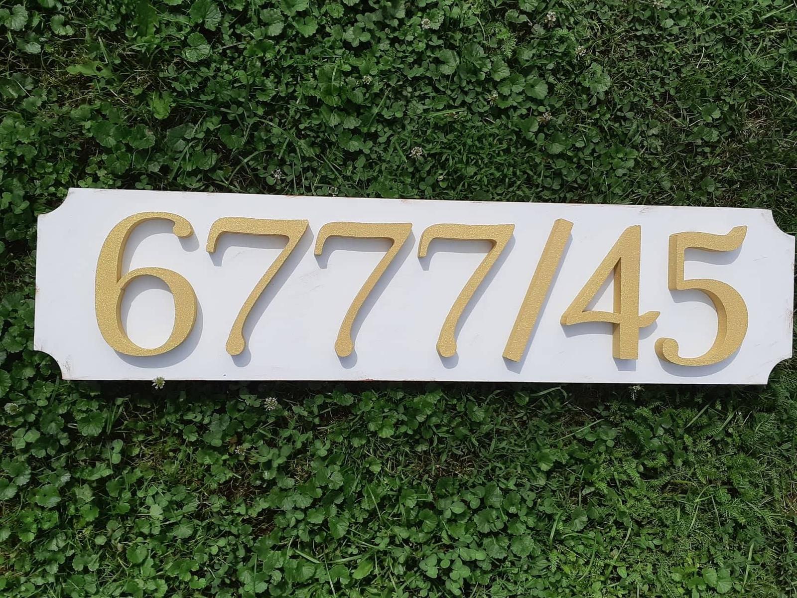 Súpisné číslo s tabuľkou - Obrázok č. 1