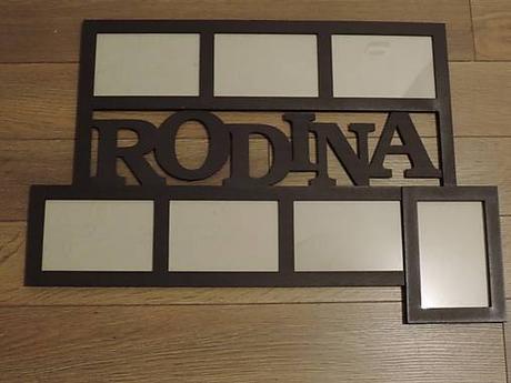 Fotorám RODINA - Obrázok č. 1