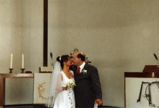 manzelsky polibek v kostele
