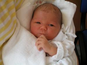 3.4.2009 se nám narodila dcera Barborka (3,6kg, 51cm)