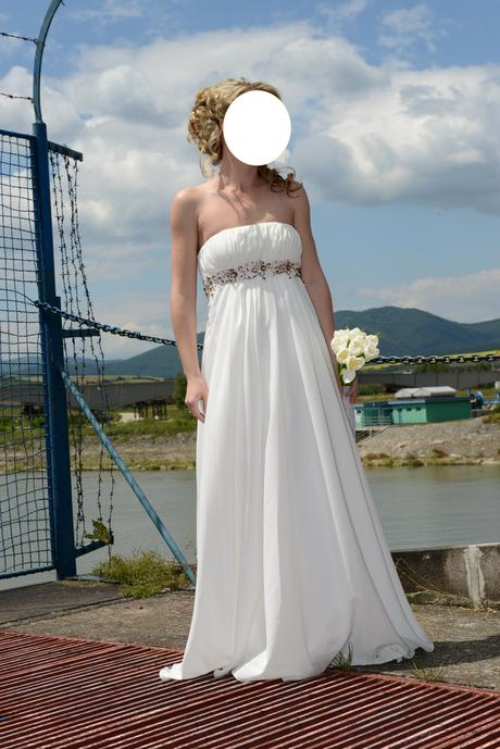 Svadobné šaty veľ. 34 - Obrázok č. 1