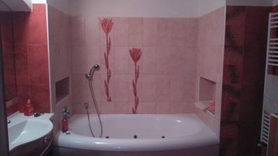 Nase svatebni koupelna :)