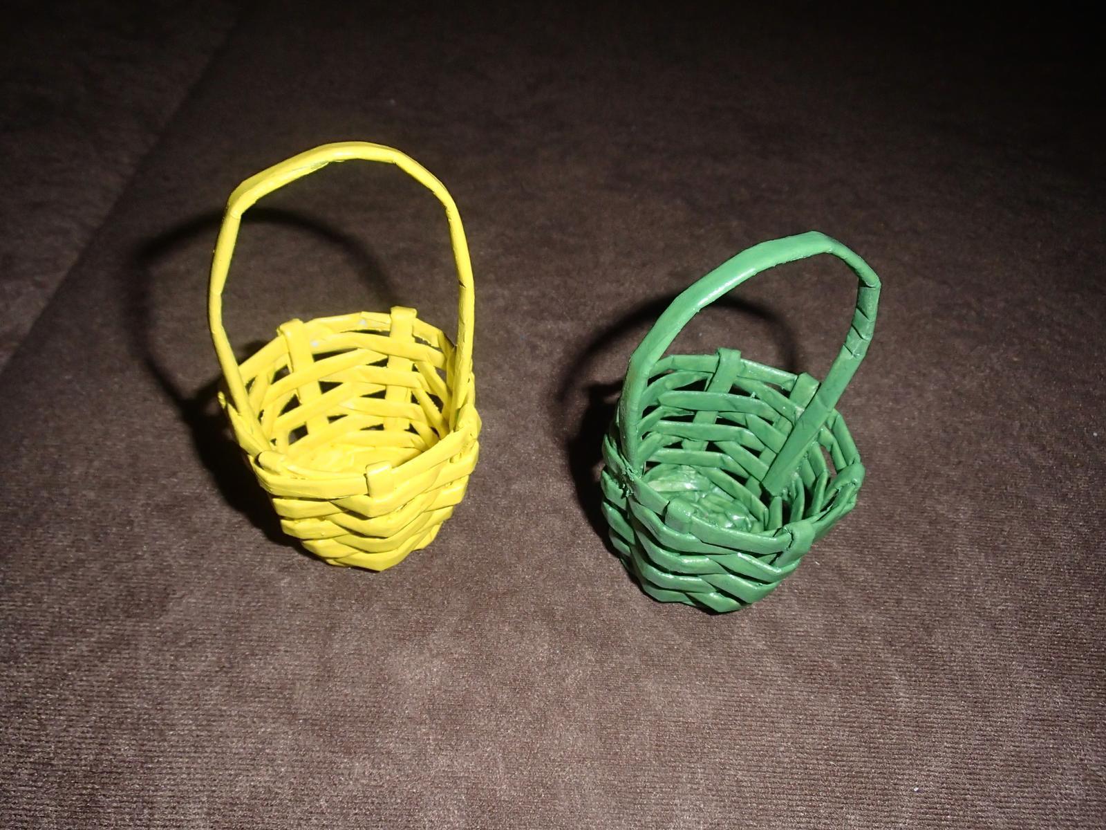 Košíčky z papiera - Obrázok č. 1