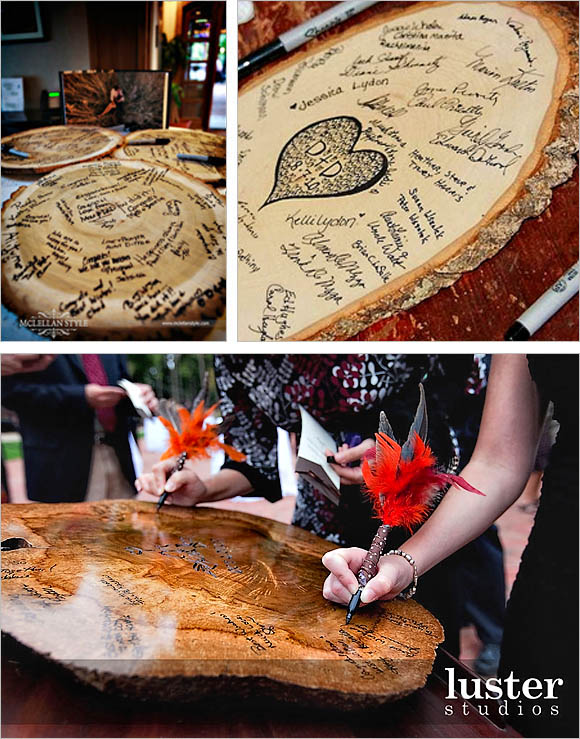 svadobná kniha - drevo :D hostí, ktoré je krajšie - Obrázok č. 1