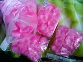 Růžové okvětní plátky,