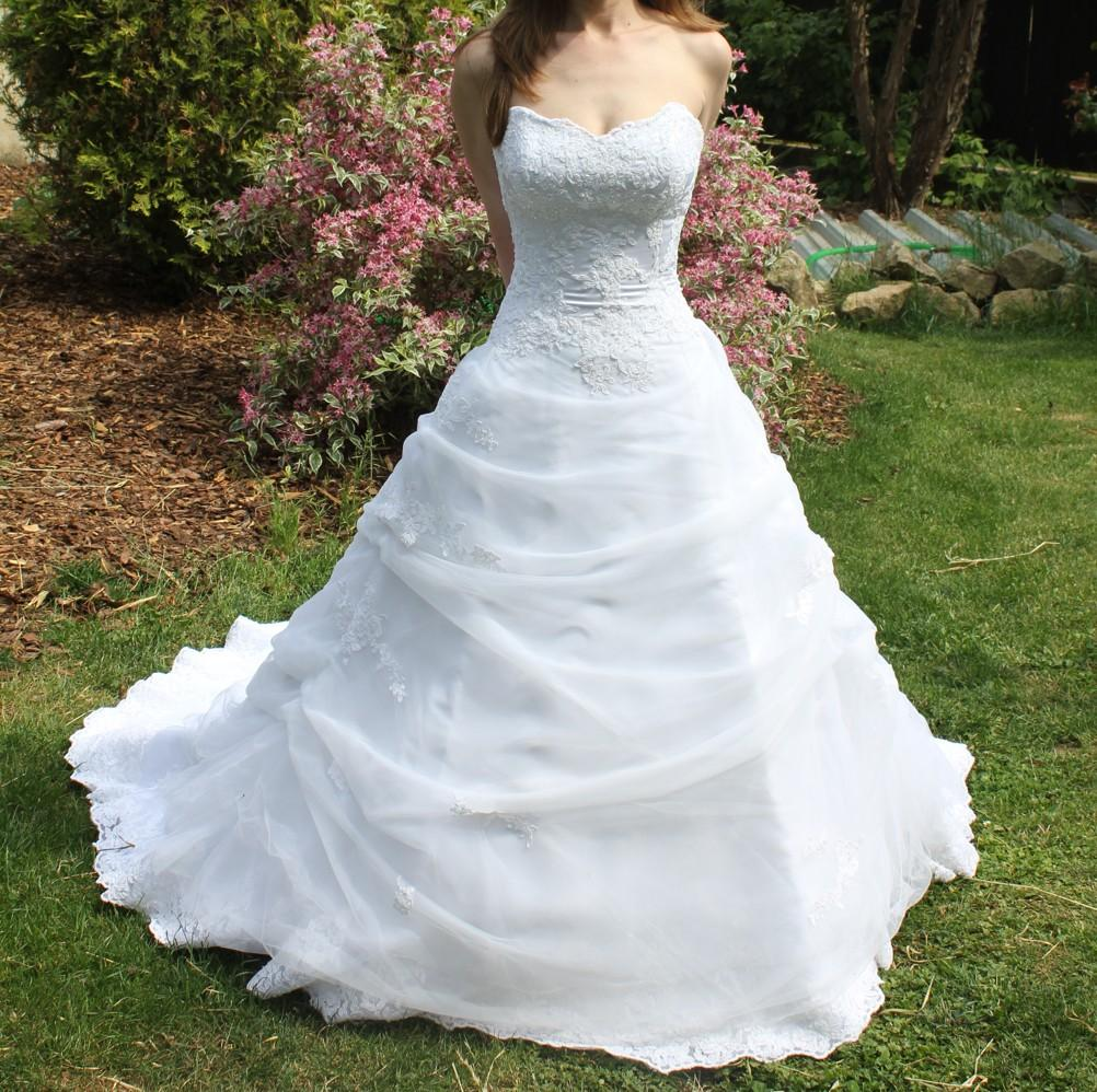 Svatební šaty Maggie Sottero, nepoužité,vel. 34-36 - Obrázek č. 1