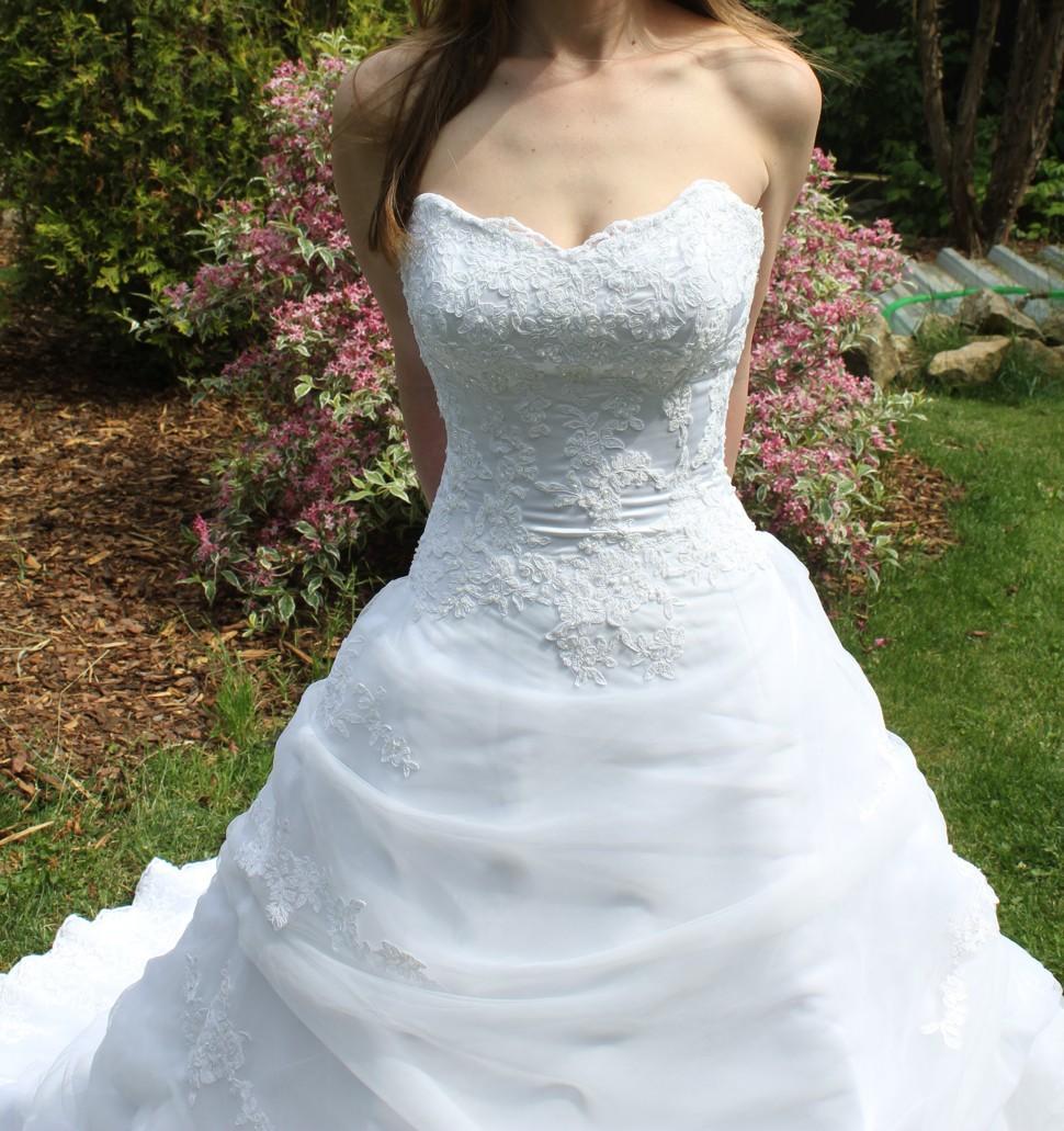 Svatební šaty Maggie Sottero, nepoužité,vel. 34-36 - Obrázek č. 2