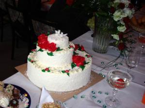 úžasný mňam mňam dortík