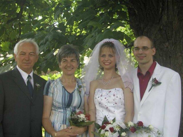 Ivča Otáhalová{{_AND_}}Mirek Matyska - rodiče manžela