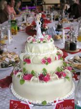 Svatební dort od Mirkovy sestry