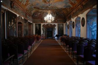 obřadní místnost v Manětíne II..