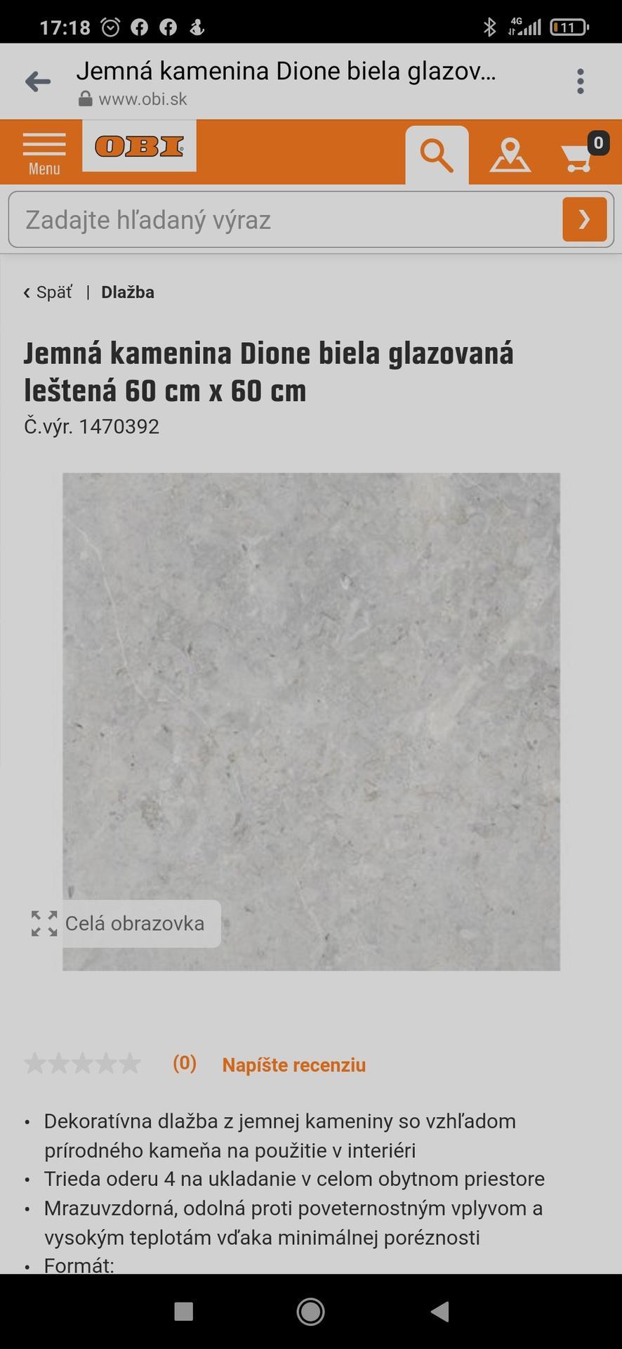 Zdravím. Chceme si dat do kúpelni tuto dlazbu bielu na steny, sivu na zem a do sprchy a za vanu túto mozaiku... chcela by som sa spýtať ci nemate tieto dlazby pouzite u vas doma a poprípade foto k tomu ako to vyzera dakujem :) - Obrázok č. 2