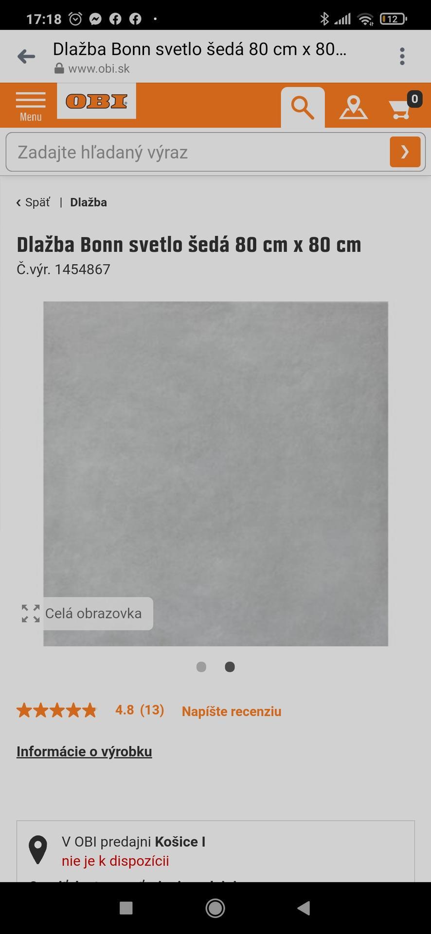 Zdravím. Chceme si dat do kúpelni tuto dlazbu bielu na steny, sivu na zem a do sprchy a za vanu túto mozaiku... chcela by som sa spýtať ci nemate tieto dlazby pouzite u vas doma a poprípade foto k tomu ako to vyzera dakujem :) - Obrázok č. 3