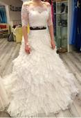 Svatební šaty vel. 36 - 40 , 36