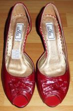 topánočky k červeným popolnočným...