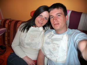 my a naše svadobné podbradníčky