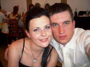 My na svadbe drahého sestry...len dva mesiace pred našou svadbou :D